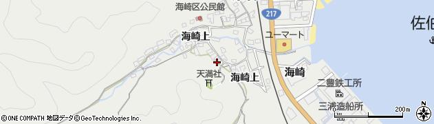 大分県佐伯市海崎1740周辺の地図