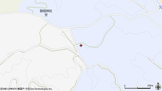 大分県竹田市下坂田1545周辺の地図