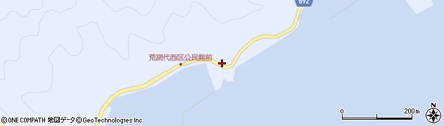 大分県佐伯市荒網代浦502周辺の地図