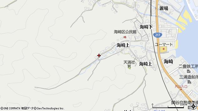 大分県佐伯市海崎1664周辺の地図