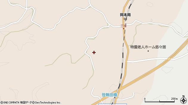 大分県竹田市三宅2141周辺の地図