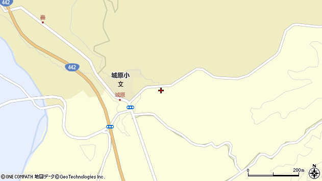 大分県竹田市米納2723周辺の地図
