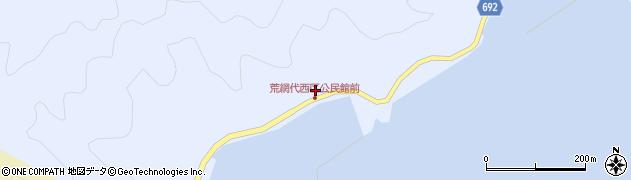 大分県佐伯市荒網代浦563周辺の地図