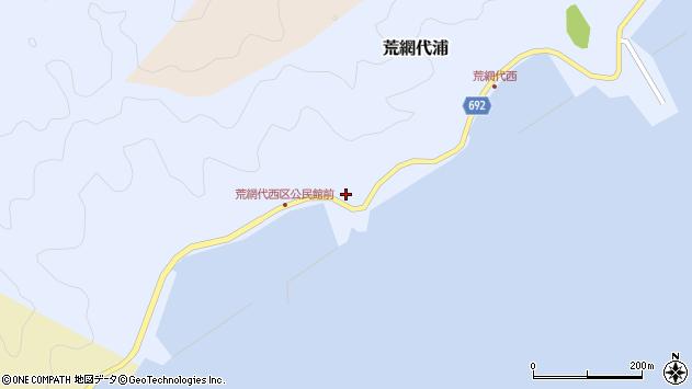 大分県佐伯市荒網代浦504周辺の地図