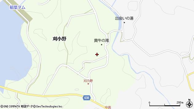 大分県竹田市刈小野269周辺の地図