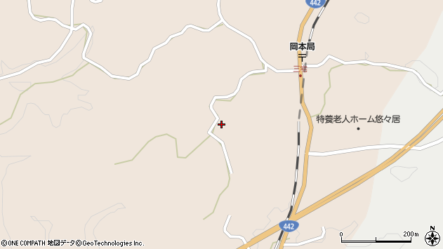 大分県竹田市三宅2130周辺の地図
