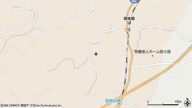 大分県竹田市三宅2137周辺の地図