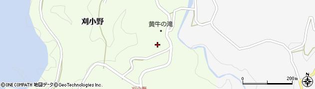 大分県竹田市刈小野268周辺の地図