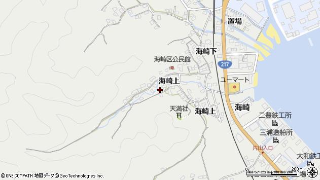 大分県佐伯市海崎1719周辺の地図