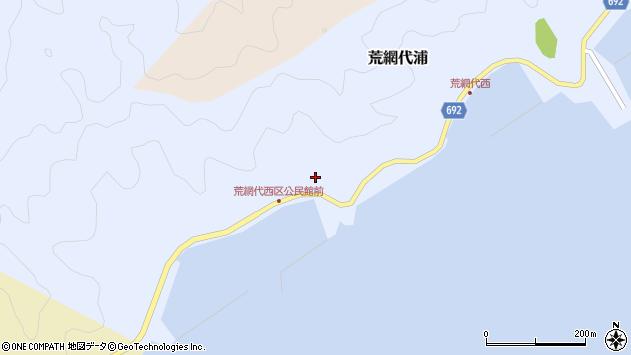 大分県佐伯市荒網代浦559周辺の地図