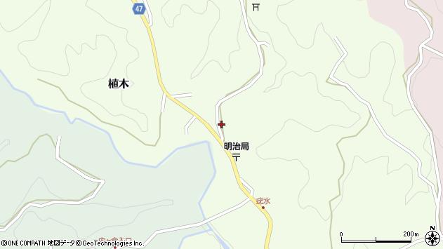 大分県竹田市植木1937周辺の地図