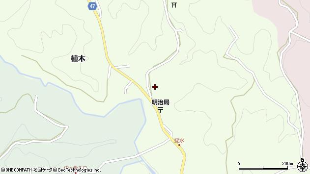 大分県竹田市植木1779周辺の地図