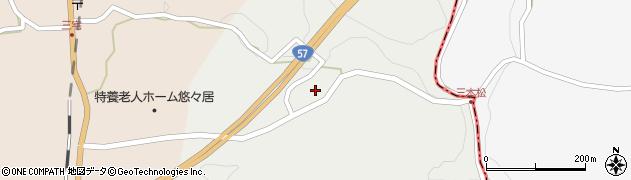 大分県竹田市挟田2712周辺の地図