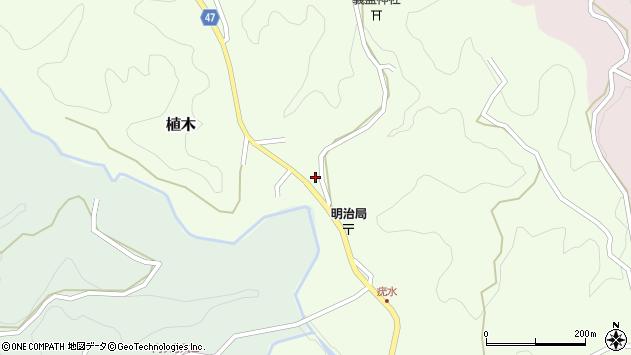大分県竹田市植木1936周辺の地図
