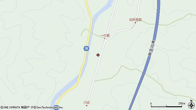 大分県佐伯市弥生大字床木620周辺の地図