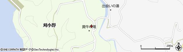 大分県竹田市刈小野334周辺の地図