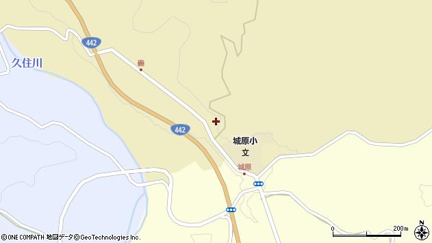 大分県竹田市城原1717周辺の地図