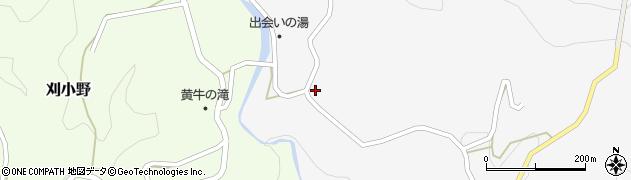大分県竹田市上坂田82周辺の地図