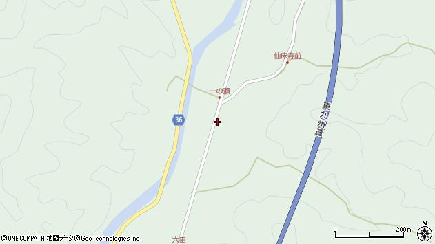 大分県佐伯市弥生大字床木628周辺の地図