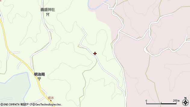 大分県竹田市植木1538周辺の地図