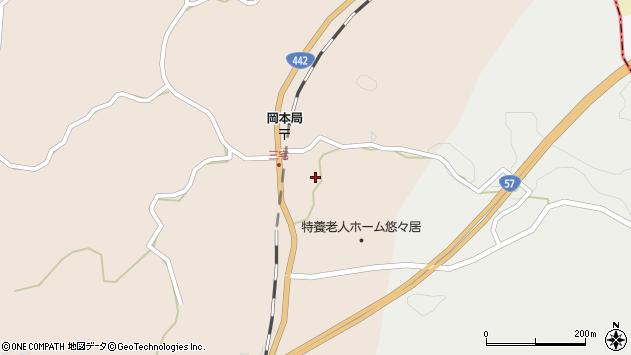大分県竹田市三宅1739周辺の地図