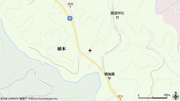 大分県竹田市植木1968周辺の地図