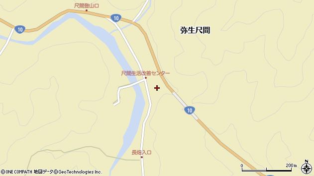 大分県佐伯市弥生大字尺間673周辺の地図