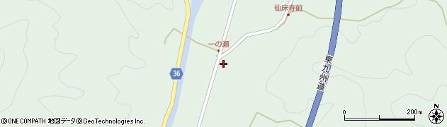 大分県佐伯市弥生大字床木625周辺の地図