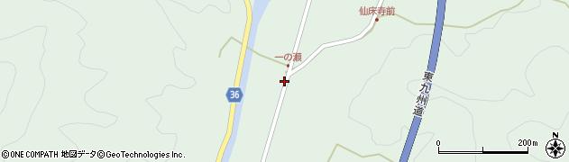 大分県佐伯市弥生大字床木624周辺の地図