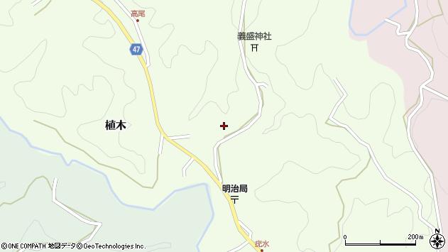 大分県竹田市植木1948周辺の地図