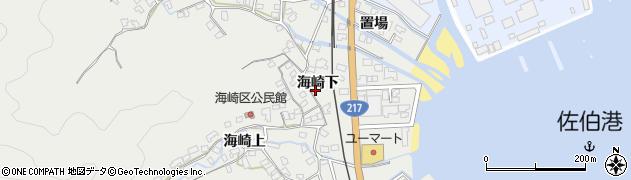 大分県佐伯市海崎1884周辺の地図