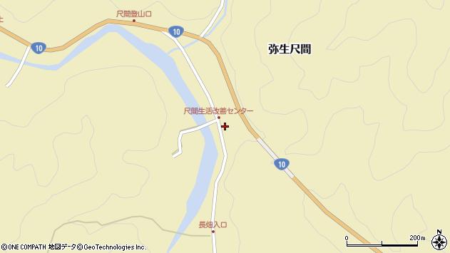 大分県佐伯市弥生大字尺間777周辺の地図