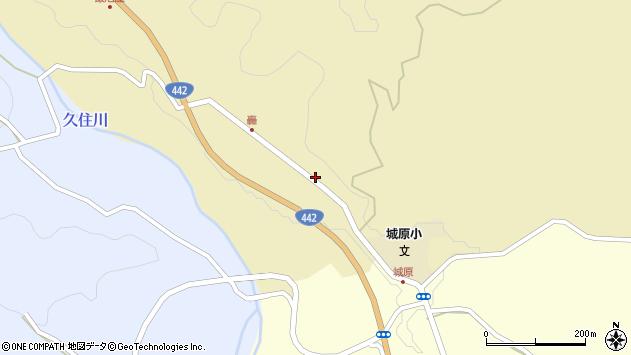 大分県竹田市城原1326周辺の地図