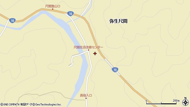 大分県佐伯市弥生大字尺間773周辺の地図