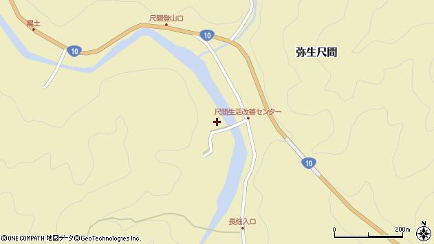 大分県佐伯市弥生大字尺間2932周辺の地図