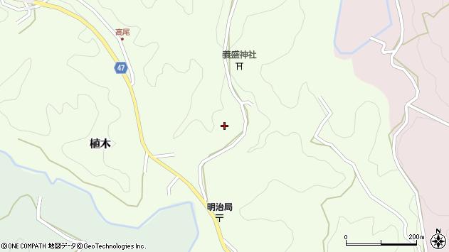 大分県竹田市植木1737周辺の地図