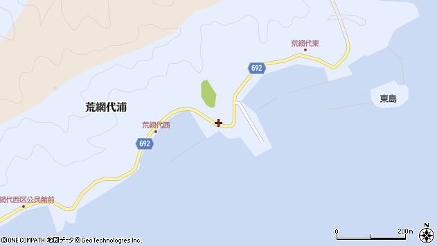 大分県佐伯市荒網代浦300周辺の地図
