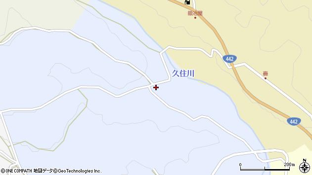 大分県竹田市下坂田1218周辺の地図