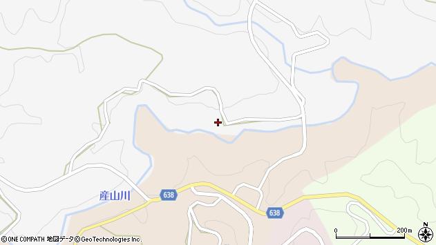 大分県竹田市久住町大字白丹5718周辺の地図