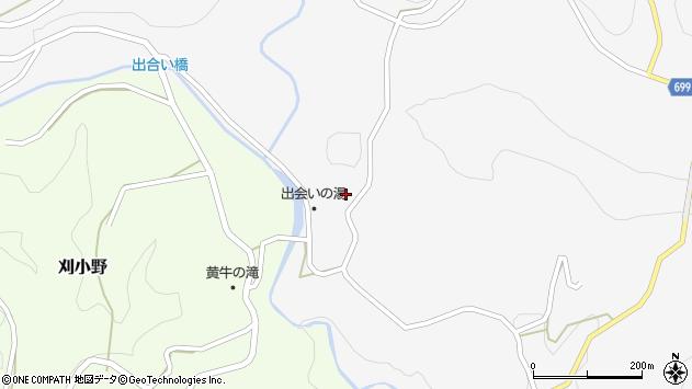 大分県竹田市上坂田16周辺の地図