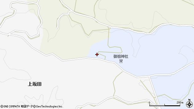 大分県竹田市下坂田1671周辺の地図