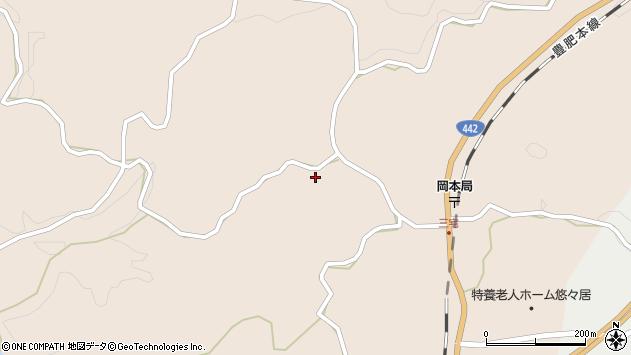 大分県竹田市三宅1525周辺の地図