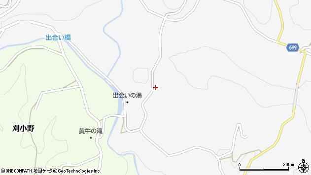 大分県竹田市上坂田19周辺の地図