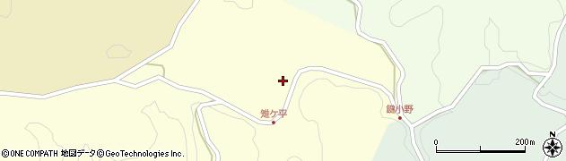 大分県竹田市米納2062周辺の地図