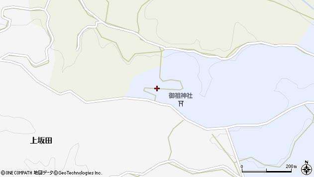 大分県竹田市下坂田1657周辺の地図