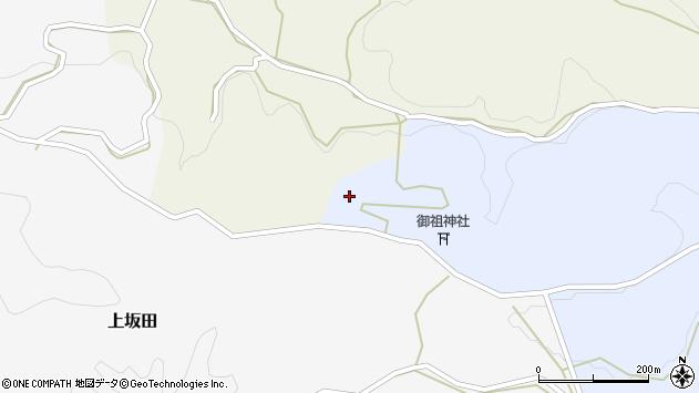 大分県竹田市下坂田1684周辺の地図