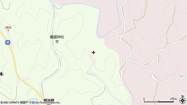 大分県竹田市植木1554周辺の地図