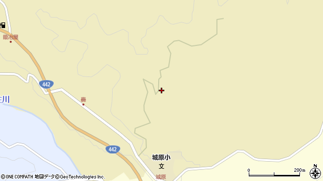 大分県竹田市城原1358周辺の地図