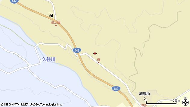 大分県竹田市城原1817周辺の地図