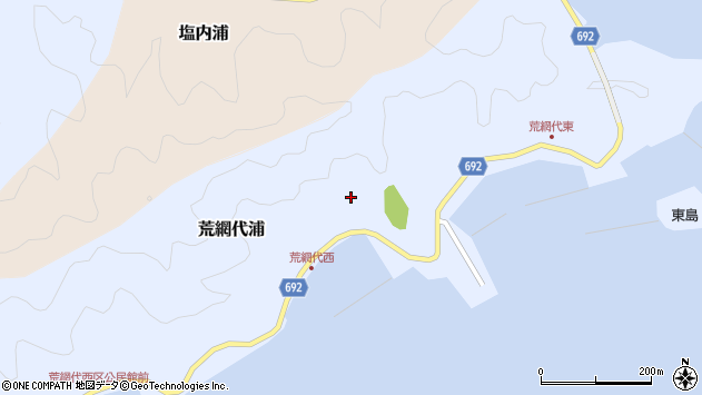 大分県佐伯市荒網代浦365周辺の地図